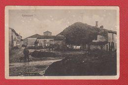 Coincourt -- Cachet Allemands Au Dos - France