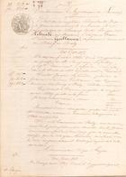 ACTE NOTARIE DU 10 FEVRIER 1849 INSCRIPTION CONSERVATION DES HYPOTHEQUES DE SAVENAY - Manoscritti