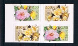Norwegen 2001 Rosen Mi.Nr. 1366/67 Kpl. Satz ** - Norwegen