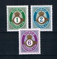 Norwegen 2001 Posthorn Mi.Nr. 1380/82 Kpl. Satz ** - Norwegen