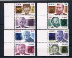 Norwegen 2001 Nobelpreis Mi.Nr. 1401/408 Kpl. Satz ** - Norwegen