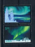 Norwegen 2001 Polarlicht Mi.Nr. 1412/14 Kpl. Satz ** - Norwegen