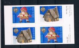 Norwegen 2001 Weihnachten Mi.Nr. 1411/12 Kpl. Satz ** - Norwegen