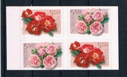 Norwegen 2001 Rosen Mi.Nr. 1392/93 Kpl. Satz ** - Norwegen