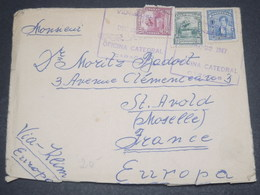 VENEZUELA - Enveloppe De Caracas Pour La France En 1947 , Affranchissement Plaisant - L 12329 - Venezuela