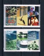 Norwegen 2002 Stadt Holmsstrand Mi.Nr. 1436/37 Kpl. Satz ** - Norwegen