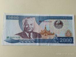 2000 Kip 1997 - Laos