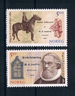 Norwegen 2002 Landstad Mi.Nr. 1452/53 Kpl. Satz ** - Norwegen
