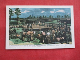 Outdoor Boxing  Military Gulfport Mississippi  Ref 2809 - Boxing
