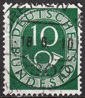 """BREMEN"" Zentrischer Vollstempel Auf Nr. 128 - [7] République Fédérale"