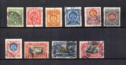 México   1899  .-   Y&T Nº  180/189 - Messico