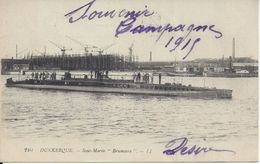CPA  France   59  Nord  Dunkerque  Sous-Marin Brumaire - Dunkerque