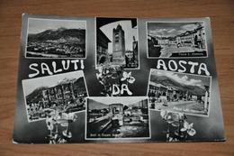1278- Saluti Da Aosta - 1955 - Aosta
