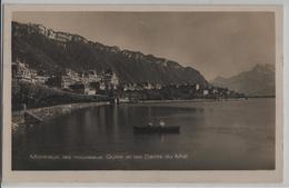 Montreux, Les Nouveaux Quais Et Les Dents Du Midi - Animee - Photo: Guggenheim - VD Waadt