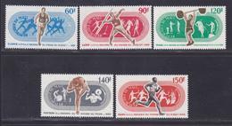 MALI AERIENS N°   73 à 77 ** MNH Neufs Sans Charnière, TB (D4524) Grands Champions Sportifs - Mali (1959-...)
