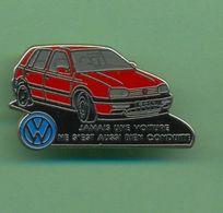 VOLKSWAGEN *** GOLF *** Signe DECAT *** A008 - Volkswagen