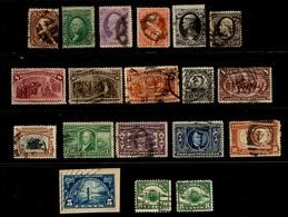 Etats-Unis Belle Petite Collection D'anciens Oblitérés  1861/1924. Bonnes Valeurs. A Saisir! - Etats-Unis