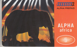 SWITZERLAND - PHONE CARD  ***   PRÉPAID CARD - ELEPHANT *** - Télécartes