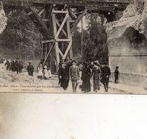 ENTRE AMIENS ET ROUEN  PONT DTRUIT PAR LES ALLEMANDS GUERRE DE 1914 - France