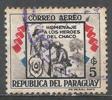 Paraguay 1957. Scott #C243 (U) ''Republic'' And Soldier - Paraguay