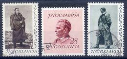 YUGOSLAVIA 1952 60th Birthday Of Tito, Used.  Michel 693-95 - 1945-1992 Socialist Federal Republic Of Yugoslavia