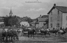 CPA De VILLARS-les-BLAMONT (Doubs). Non Circulée. TB état. - France