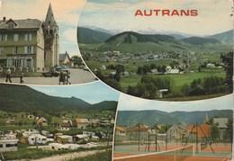 Carte Postale Des Années 70-80 De L'Isère - Autrans - Vues Multiples - Frankreich