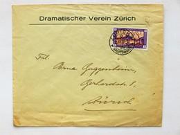 SUISSE / SCHWEIZ / SWITZERLAND // 1929, Lettre - Brief, PRO JUVENTUTE, Gelaufen, ZÜRICH 20.XII.29, Sauber Gestempelt - Briefe U. Dokumente