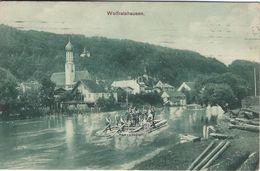 Wolfratshausen.  Sent To Denmark 1910.     S-3930 - Wolfratshausen