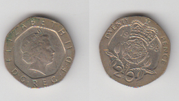 ANGLETERRE - 20 PENCE 1998 - 1971-… : Monnaies Décimales