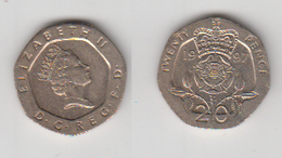 ANGLETERRE - 20 PENCE 1997 - 1971-… : Monnaies Décimales