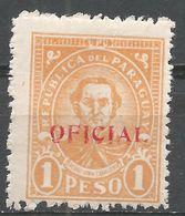 Paraguay 1935. Scott #O96 (M) Pedro Juan Caballero - Paraguay
