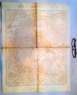 STAFKAART 17/5 Meting1872 MEERHOUT GESTEL EINDHOUT LIL BEL WINKELOM ZITTAART HESSIE Mol GEEL VOLMOLEN WINKELOMHEIDE S388 - Meerhout