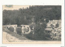 22 LES BORDS DE LA RANCE LE PONT DE LEON CPA BON ETAT - France