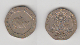 ANGLETERRE - 20 PENCE 1987 - 1971-… : Monnaies Décimales