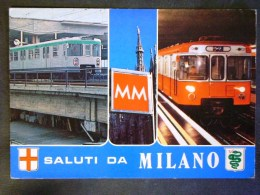 LOMBARDIA -MILANO -METROPOLITANA -F.G. LOTTO N°621 - Milano (Milan)