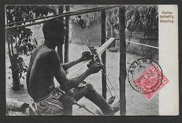 GHANA - GOLD COAST - Native Industry - Weaving - Ghana - Gold Coast