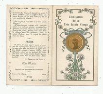 Image Pieuse , Religieuse , 4 PAGES , L'IMITATION DE LA TRES SAINTE VIERGE , N° 60, 2 Scans - Santini