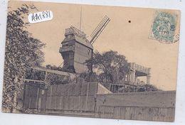 PARIS XVIII- MONTMARTRE-LE MOULIN DE LA GALETTE - Arrondissement: 18