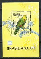 Nicaragua. 1989. Aves. Birds. Oiseaux. - Parrots