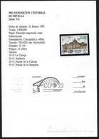 Spagna/Spain/Espagne: Tutte L'emissioni Filateliche Dedicate All'Esposizione In Elegante Confezione Regalo. - 1992 – Siviglia (Spagna)
