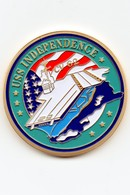 "Militaria - Pièce De Collection - Porte-avions ""USS INDEPENDENCE CV 62"" - Estados Unidos"