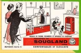 Buvard & Blotting Paper : Meubles De Cuisine Fonderie De SOUGLAND AISNE  Serie C - Wash & Clean