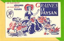 Buvard & Blotting Paper : Graines Du Paysan Animaux Chat - Agriculture