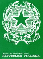 1991 ITALIA BOLAFFI BLOCCO FOGLI GBE 24 ANELLI USATI MA PERFETTI - Albums & Bindwerk