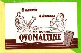 Buvard & Blotting Paper : Ma Bonne OVOMALTINE - Food