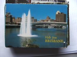 Australië Australia Queensland Brisbane Hello - Brisbane