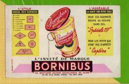 Buvard & Blotting Paper : Moutarde BORNIBUS - Mostard