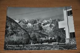 1282- Courmayeur, Partenza Funivia.............- 1954 - Aosta