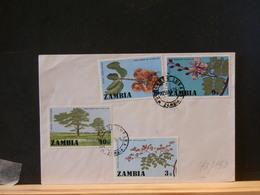 72/153  LETTRE ZAMBIA - Zambia (1965-...)